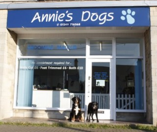 Annie's Dogs - Photo of parlour from outside
